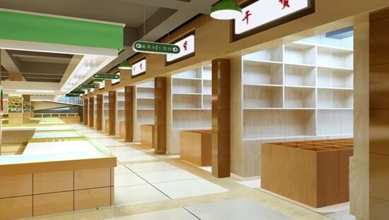 农贸市场室内摊位设计(三)